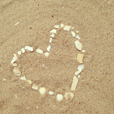 My little art creation in the sand