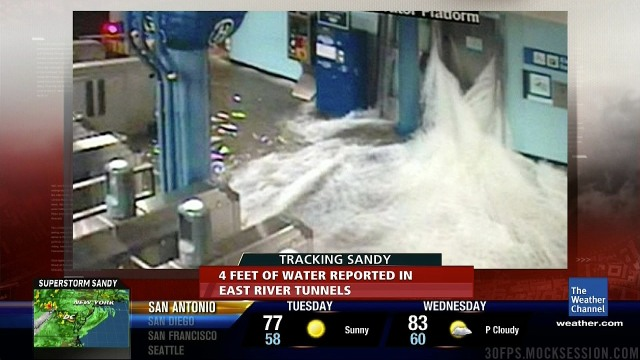 An idea of what I was watching in the news - Image from http://www.outsideonline.com/blog/outdoor-adventure/hurricane-sandy-liveblog.html