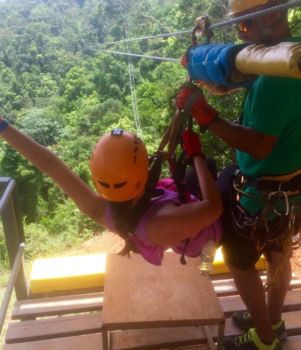 Zip-lining Puerto Rico Toro Verde