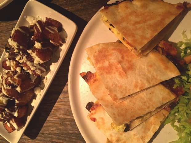 Al Vez Brunch Breakfast Quesadilla - Cristina Nogueras