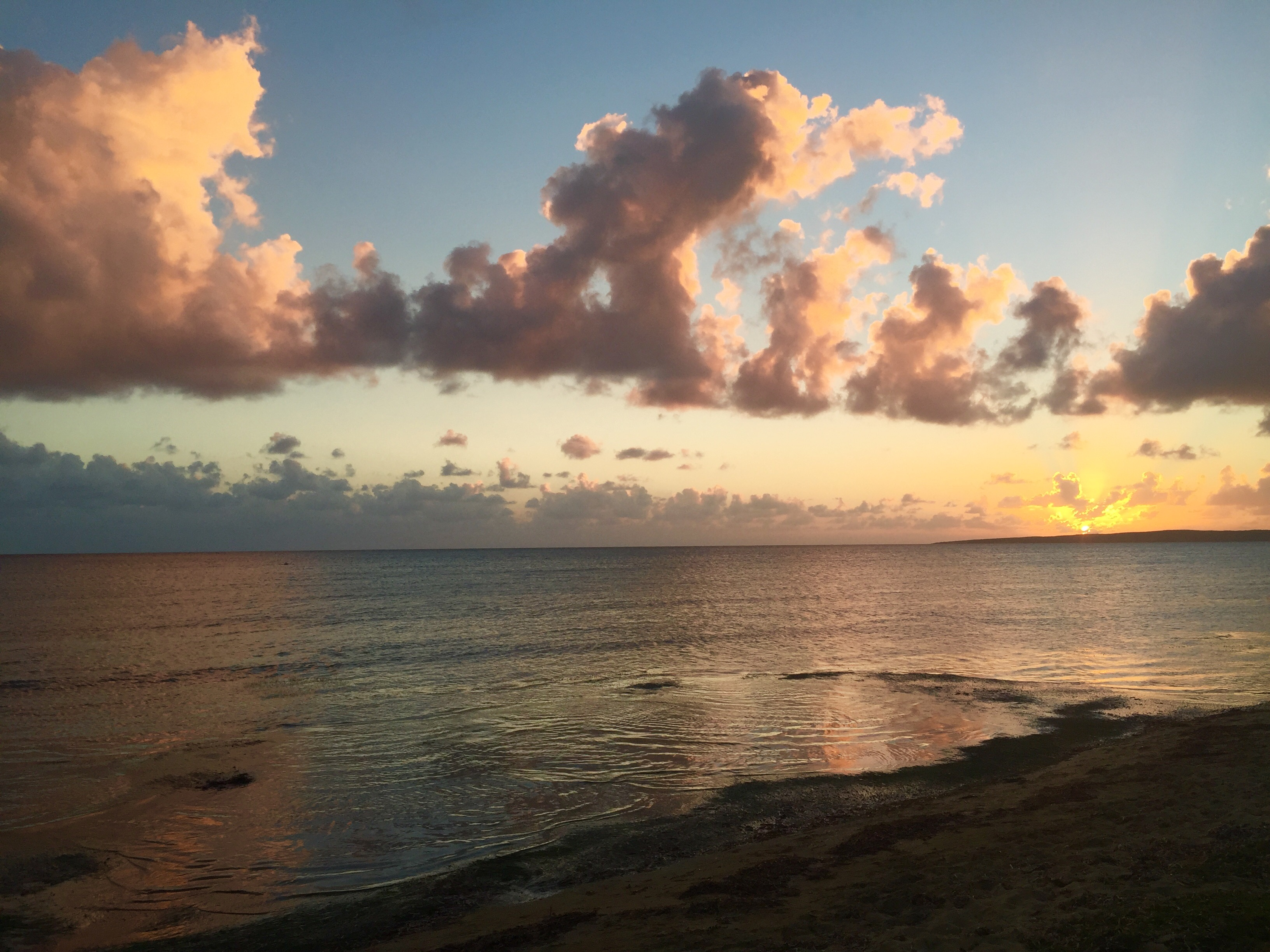 puerto rico sunset guanica