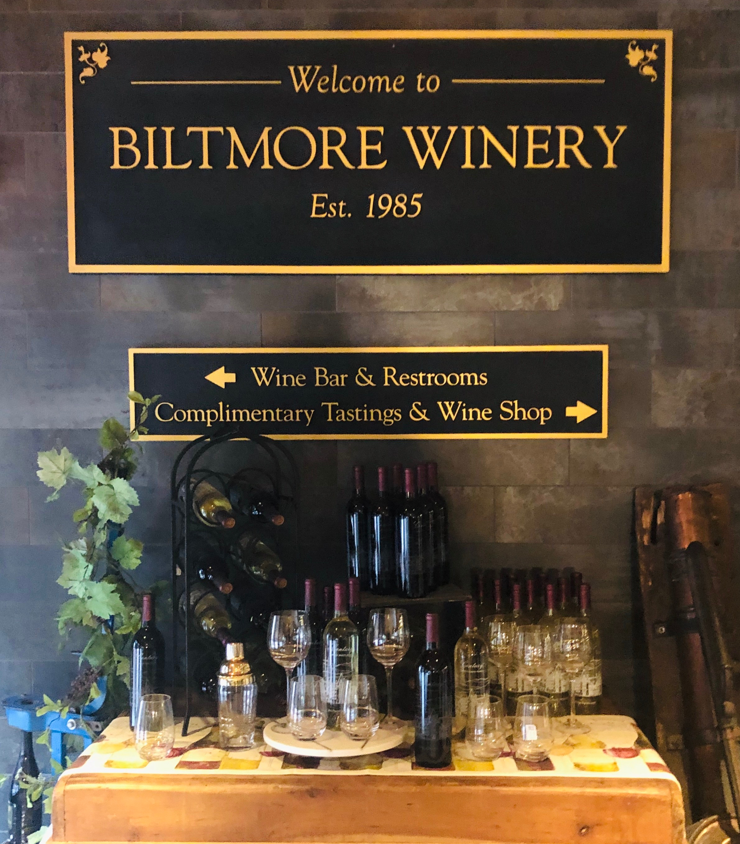 Winery Biltmore Estate Asheville North Carolina Getwaway